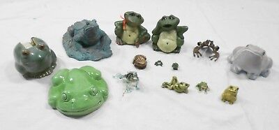 Frogs Lot Of 15 Germany Jade Isabel Bloom