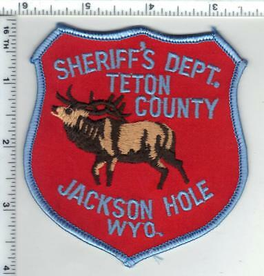 Teton County Sheriff's Dept (Wyoming) Shoulder Patch from the 1980's