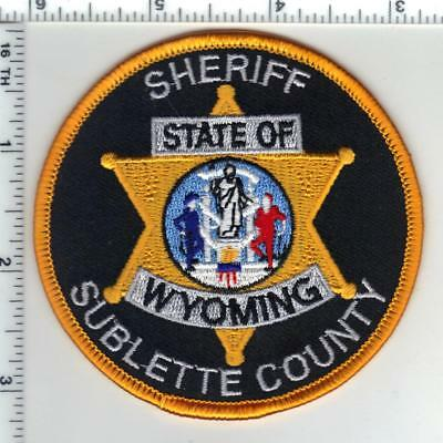 Sublette County Sheriff's Dept (Wyoming) Shoulder Patch from the 1980's