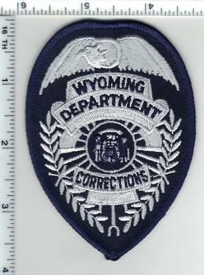 Department of Corrections (Wyoming) Shirt/Jacket Patch from the 1980's