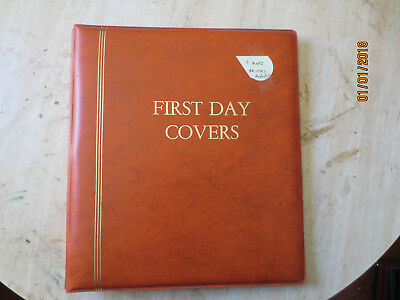 No-31 -   FDC  ALBUM  9  PAGES  WITH  44  FDC'S  --GOOD  ORDER