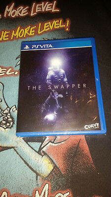 New/Sealed - The Swapper (Sony PlayStation Vita, 2017) LRG Limited Run Games