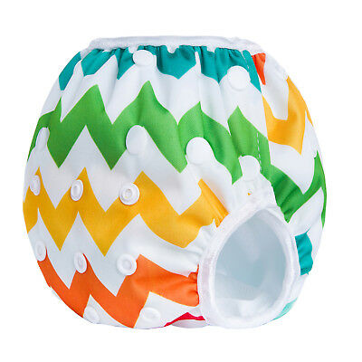 Swim Nappy Baby Cover Reusable Multifit Diaper Pants Nappy Swimmers Chevron