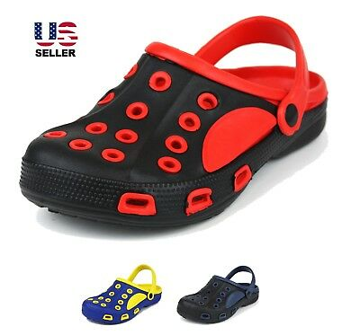 dcbfe6c5fa52 Mens Slip On Duet Sport Garden Fishing Beach Outdoor Clog Shoes Slippers  Sandals