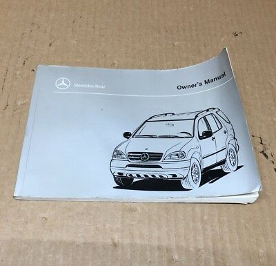 1998 mercedes benz ml320 owners manual set 98 ml 320 guide w case rh picclick com 1998 Mercedes-Benz ML320 SUV 1998 mercedes benz ml320 owners manual