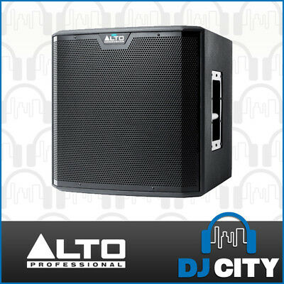 Alto TS212S Powered 12 Inch PA DJ Subwoofer 1250W Active 12-Inch Sub - Genuine
