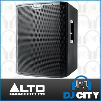 Alto TS218S Powered 18 Inch PA DJ Subwoofer 1250W Active 18-Inch Sub - Genuine
