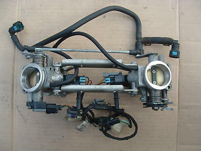 Hyosung Gt650 R Throttle Bodies + Injectors Good Condition