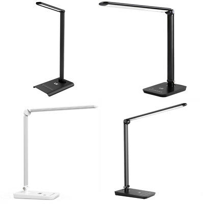 LE Touch Sensor LED Dimmable Desk Lamp Table Reading Book Light Eye Protection