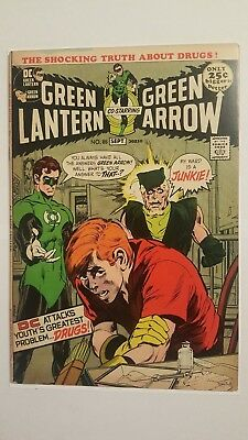 Green Lantern #85 DC Comic Book VF Very Fine 8.0 Bronze Age Superhero