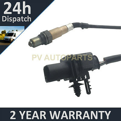 Rear 5 Wire Wideband Oxygen Lambda O2 Sensor For Skoda Superb 2.0 Tdi 2008-2010