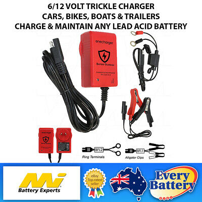 Projecta Charge & Maintain Ac150 Trickle Battery Charger Motorbike 12V Jet Ski