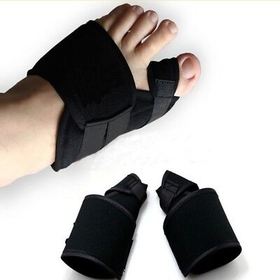 2PCS Big Toe Splint Straightener Corrector Hallux Valgus Bunion Relief Foot Pain