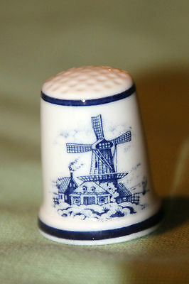 Royal Mosa Thimble Windmill Decorative  Vibrant Beautiful Piece Look!