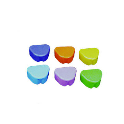 200Pcs Wholesale Dental Deep Dish Retainer Box Mixed Color Teeth Retainer LK-418