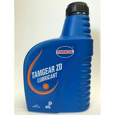 Tamoil Tamgear Lubricant ZD SAE 80W-90 1 Liter Oil for exchange and differential