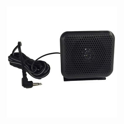 3.5mm P600 Car Radio External Speaker for Yaesu Icom Kenwood Mobile Radio T D2F3