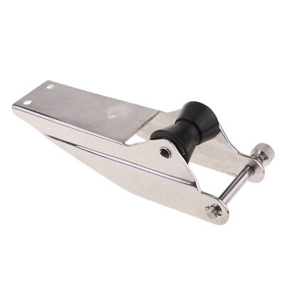 Boat Bow Anchor Roller 250mm Stainless Steel Marine Yahct Lift Black Roller