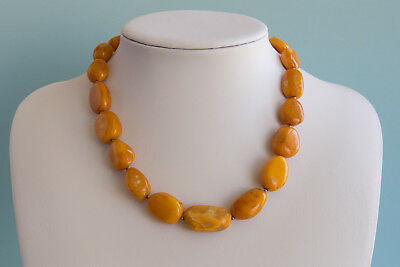Bernsteinkette Baltic amber necklace collier d'ambre 琥珀項鍊 Länge 45cm (17,71in)