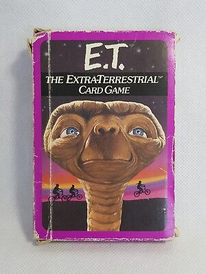 E.T. The Extra-Terrestrial Card Game by Parker 1982 - Boxed Complete