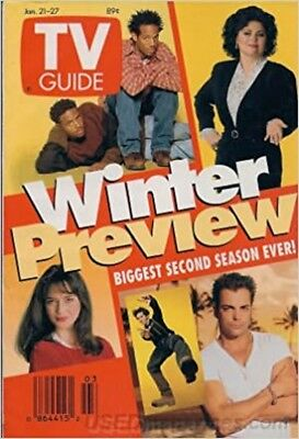 Tv Guide January 21-27, 1995 Winter Preview