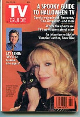 Tv Guide October 22-28 1994 Jay Leno - Suzanne Somers