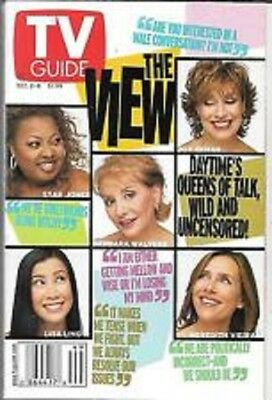 TV Guide December 2-8, 2000 The View
