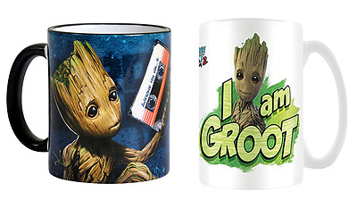 Guardians Of The Galaxy Vol.2 I Am Groot Coffee Mug Tea Cup Official Ceramic