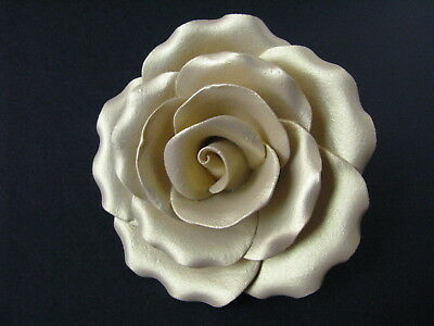 Cake Flowers/Gum Paste Flowers/Gum Paste/Cake Sugar Flowers - Gold Rose Flowers
