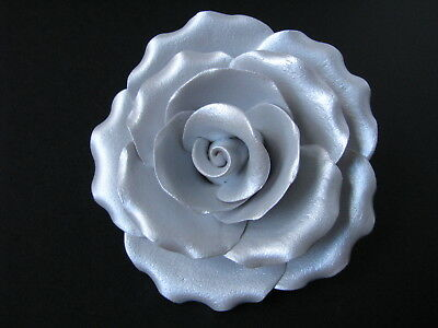 Cake Flowers/Gum Paste Flowers/Gum Paste/Cake Sugar Flowers - Silver Rose Flower