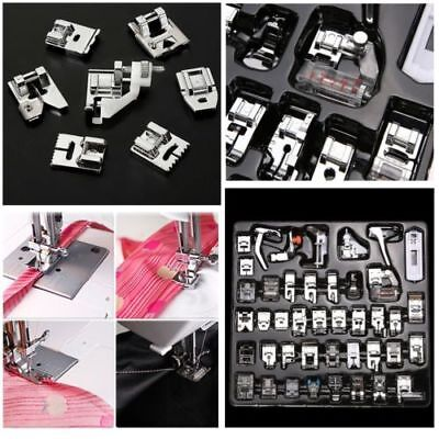 52 pcs Domestic Electric Sewing Machine Foot Presser Feet Kit Household GT