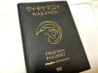 Marvel Wakanda Passport Cover Case
