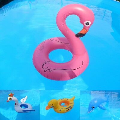 aufblasbarer flamingo delphin delfin schwan ente pool schwimmtier boote eur 9 99 picclick de. Black Bedroom Furniture Sets. Home Design Ideas