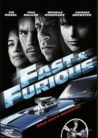 Fast & Furious Solo Parti Originali - Film In Dvd Originale -Compro Fumetti Shop