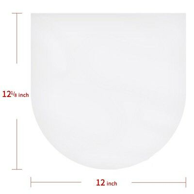 25PCS Antistatic Clear Plastic Cover Inner Sleeves For 12'' LP LD Vinyl Record