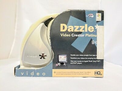 PINNACLE DAZZLE Video Creator Platinum w Software, Video Transfer Unit