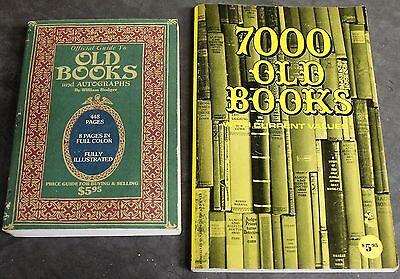 Lot X 2 Old Book Price Guides William Rodger Schroeder 1976 1977 PB Antique Book