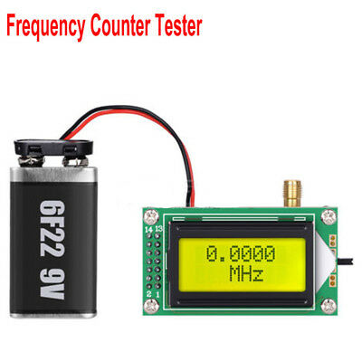 High Accuracy 1 to 500 MHz Frequency Tester Meter 0802 LCD Digital For Ham Radio