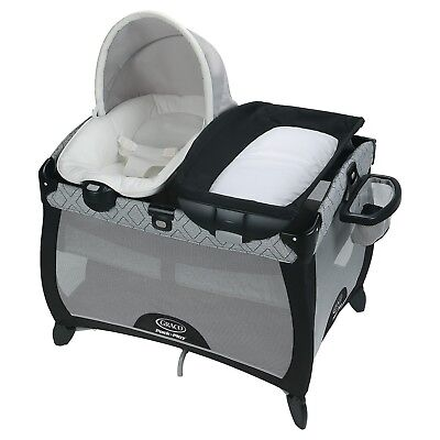 Graco Pack N Play Playard Bassinet Quick Connect Portable Napper - NEW