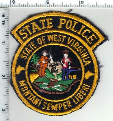 West Virginia - State Police 2nd Issue Shoulder Patch - new from the 1970's