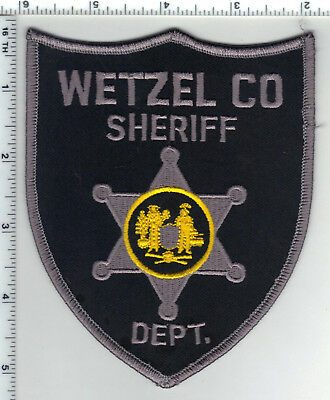 Wetzel County Sheriff Dept. (West Virginia) Shoulder Patch - from the 1980's