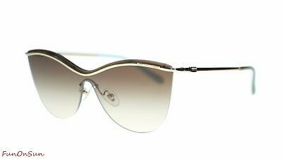 8e5621327610 TIFFANY & CO Butterfly Sunglasses TF3058 60213B Pale Gold/Brown Gradient  35mm