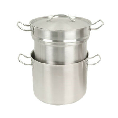 Thunder Group SLDB020 20 Qt Stainless Steel Induction Double Boiler