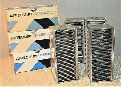 Vintage Airquipt Automatic Slide Holder Magazines Lot of 7
