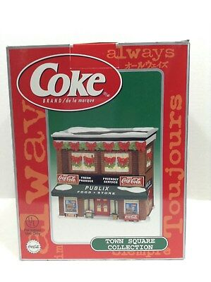 2000 Coca Cola Town Square Collection Holiday Publix Food Store