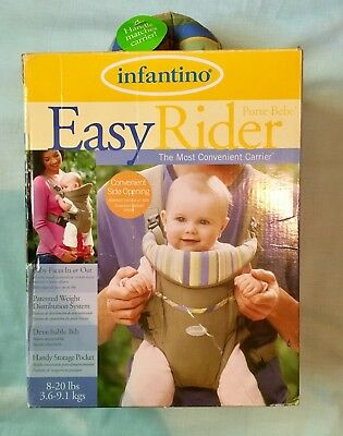 00064c98c07 INFANTINO EASY RIDER Carrier -  8.25