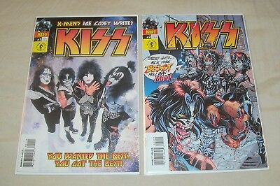 KISS (2002 Dark Horse Series) Lot 1 & 2 Gene Simmons Paul Stanley Rock N Roll
