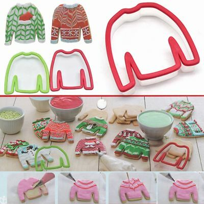 Tool Cookie Cutters Biscuit Mould Sweater Silicone Mold Boy Girl Clothes