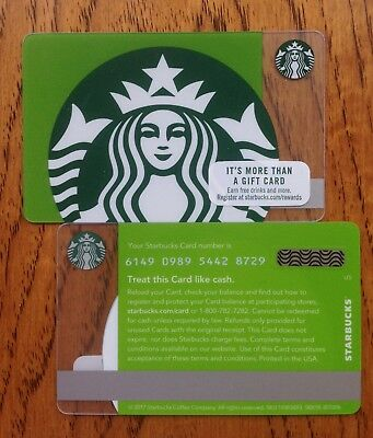 2018 Starbucks Green Siren Mermaid gift card series 6149 US