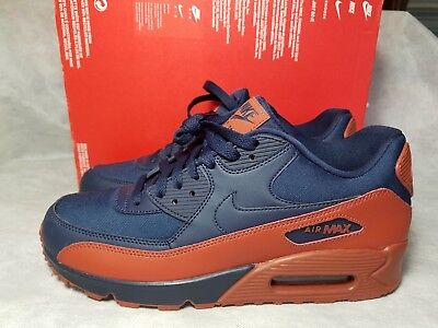 best service f655c f5c23 New Nike Air Max 90 Essential Obsidian Mars Stone Men Size 9.5 Shoe  537384-425
